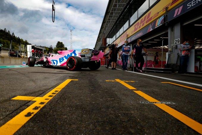 Viernes en Bélgica – Racing Point: a aprovechar las largas rectas para conseguir un gran resultado