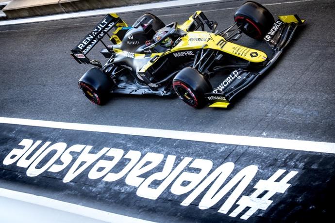 Viernes en Gran Bretaña – Renault: buenas sensaciones en los primeros entrenamientos
