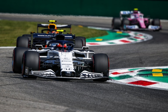 GP de Italia 2020 con un extraño perfume