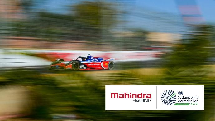 Mahindra Racing es el primer equipo de la Fórmula E en recibir las tres estrellas de la excelencia