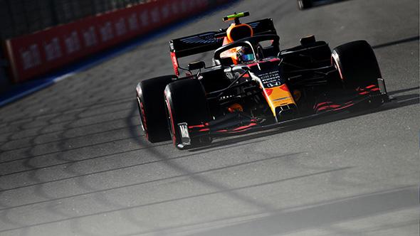 Viernes en Rusia - Red Bull cae en la sesión de la tarde