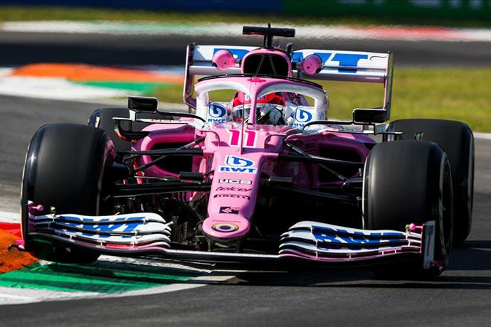 Viernes en Italia - Racing Point no encuentra su mejor rendimiento