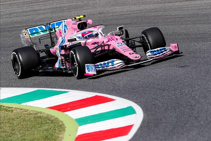 Viernes en La Toscana - Racing Point tiene una notable mejora en la segunda sesión
