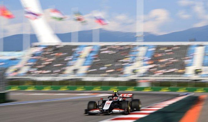 Viernes en Rusia Haas no consigue buenos cronos