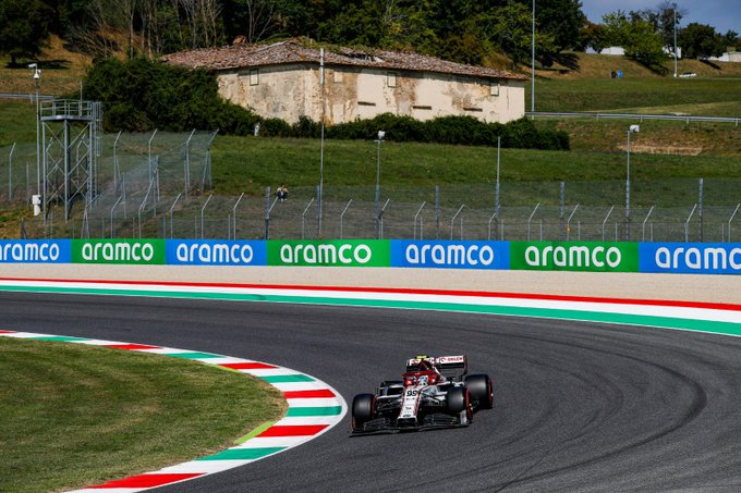 Viernes en La Toscana - Alfa Romeo optimistas para entrar en Q2