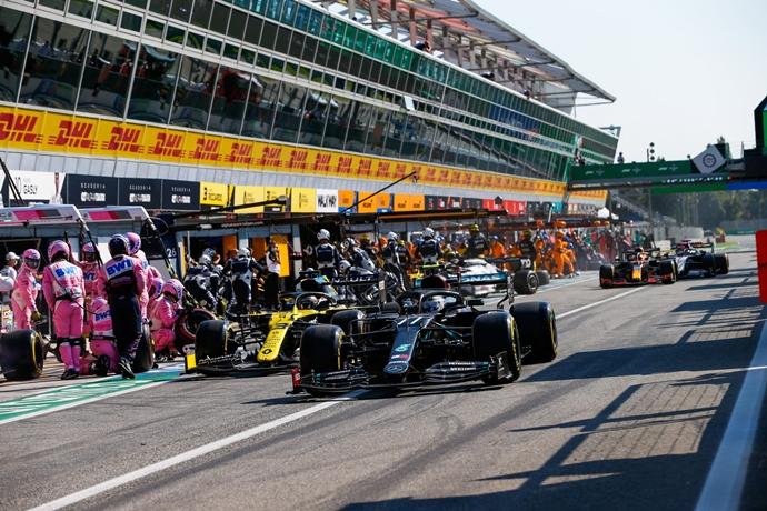 Dirección de carrera: Los incidentes del Gran Premio de Italia