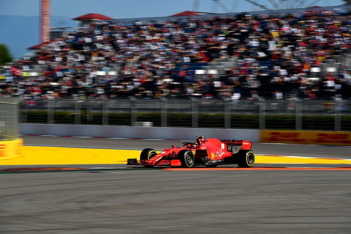 Domingo en Rusia – Ferrari: Leclerc suma 8 puntos con la P6; Vettel termina en P13