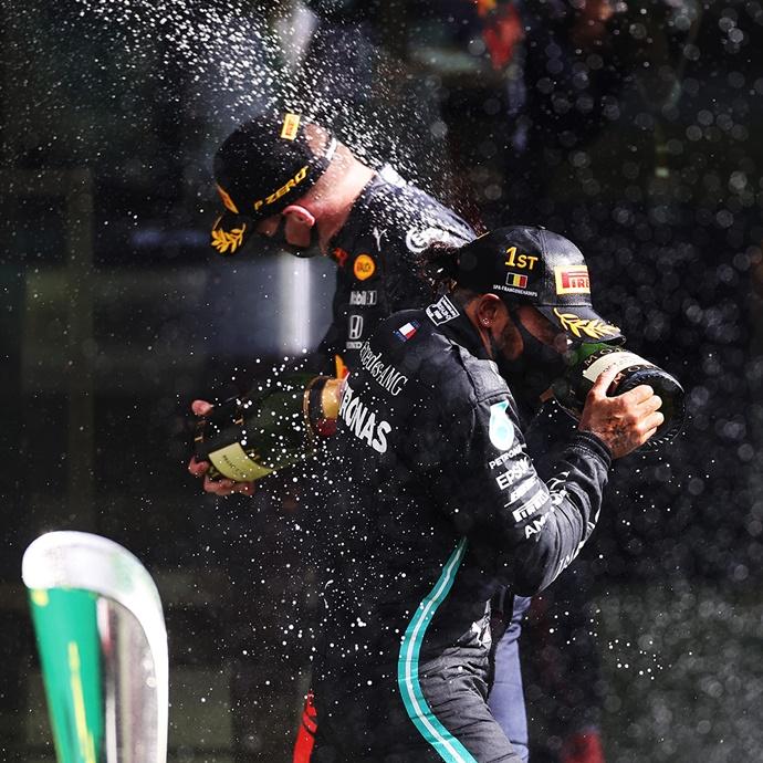 Hamilton debería compartir equipo con Verstappen en Red Bull, según Eddie Jordan