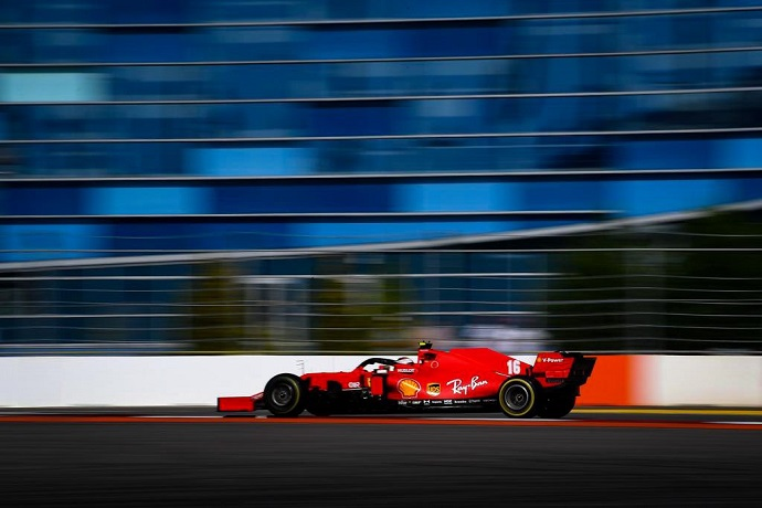 """Leclerc, satisfecho de su carrera en Rusia: """"Comparado con las últimas carreras, hemos dado un paso adelante"""""""