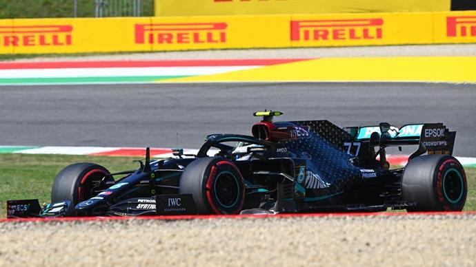 Libres 3 en La Toscana – Bottas y Mercedes vuelven a dominar; Verstappen amenaza para la clasificación