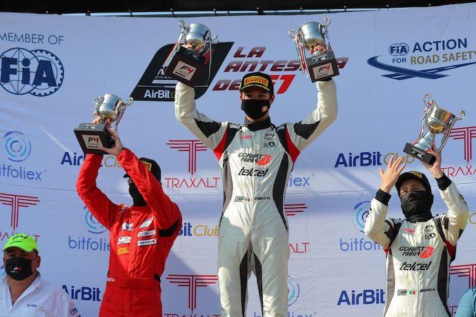 El campeonato de la FIA F4 NACAM sigue sus acciones en el GP de Querétaro - México