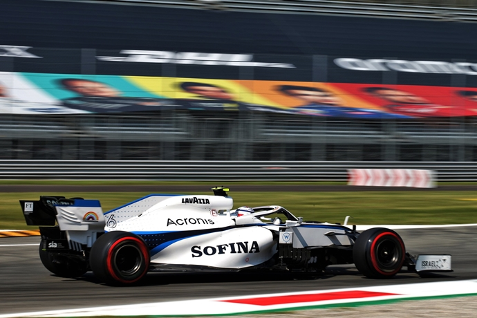 Sábado en Italia - Williams al fondo de la tabla de tiempos