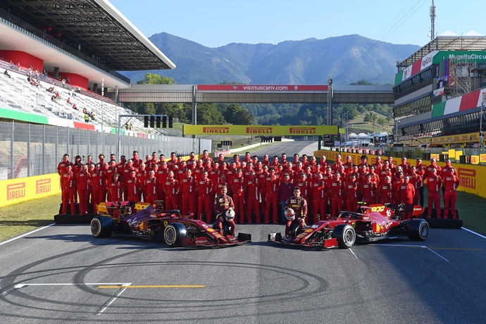 Sábado en La Toscana – Ferrari: Leclerc triunfa en Mugello y saldrá quinto tras una afortunada Q3