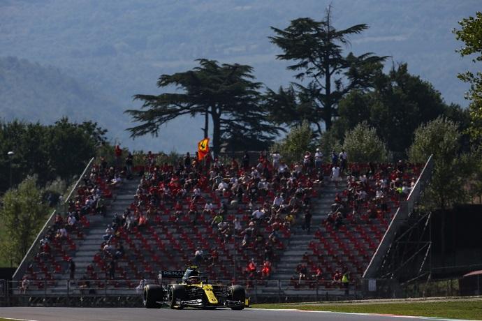 Sábado en La Toscana - Renault entra en los últimos puestos de la Q3