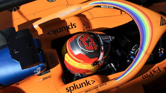 """Sainz: """"Lo que pasó en Mugello espero que no lo volvamos a ver en una carrera"""""""