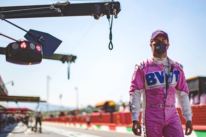 Sainz, Ricciardo y Ocon muestran solidaridad con Pérez y esperan que esté en 2021