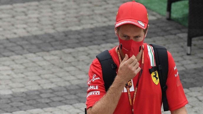 """Vettel: """"Desgraciadamente, el problema conel SF1000 no está solo en la parte trasera"""""""