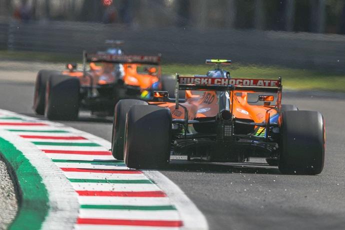 Viernes en Italia - McLaren se postula para liderar la zona media