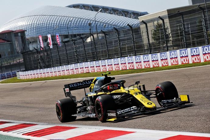 Viernes en Rusia – Renault impresiona con Ricciardo entre los tres primeros en ambas sesiones