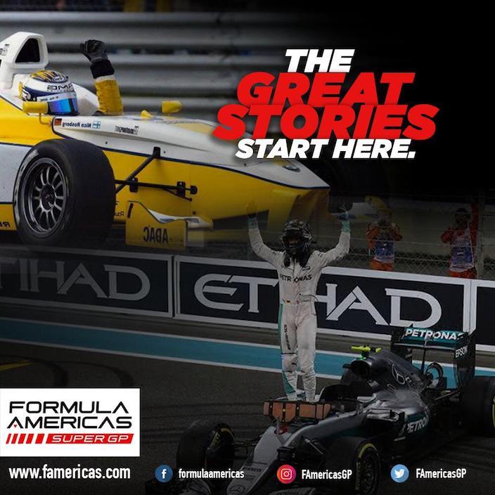 Se presenta el campeonato Fórmula Américas Super GP en México y Estados Unidos