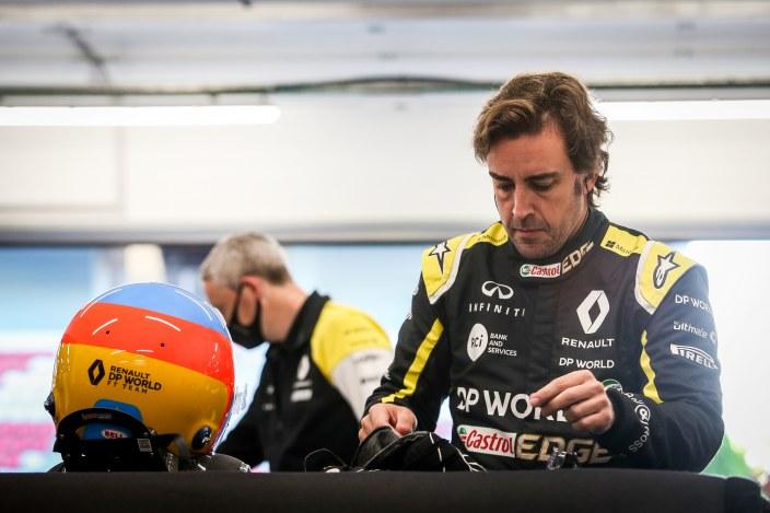 """Alonso, tras su test con Renault: """"Sé que las perspectivas de futuro son buenas"""""""