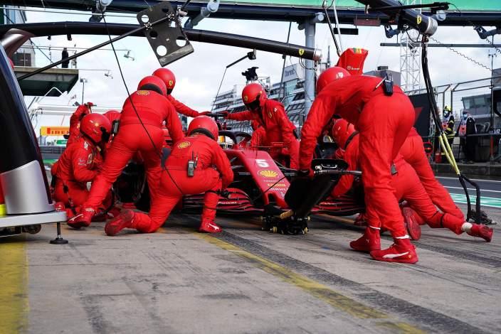 Binotto satisfecho con las actualizaciones de Ferrari en Rusia y Eifel