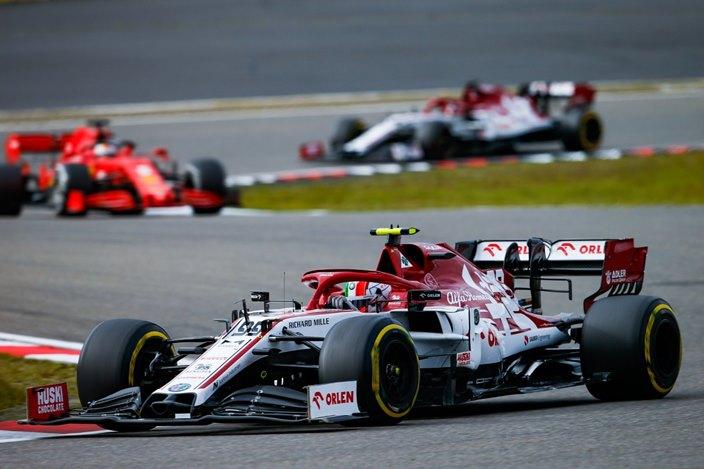 Domingo en Eifel – Alfa Romeo: Giovinazzi cierra el Top 10 en una carrera repleta de abandonos