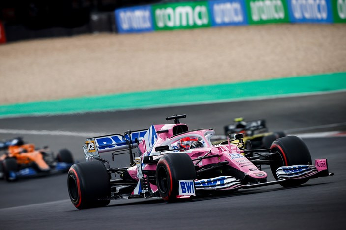 Domingo en Eifel – Racing Point: Checo logra una agridulce P4; Hulkenberg remonta a P8 en su breve regreso