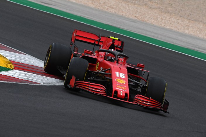 Domingo en Portugal - Ferrari vuelve a salvarse por Leclerc