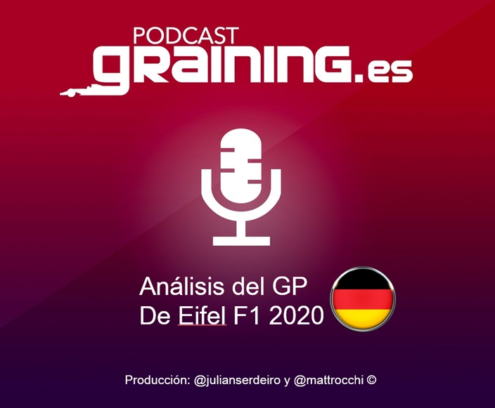 Podcast Graining Media F1 No. 53 con el análisis del GP de Eifel 2020