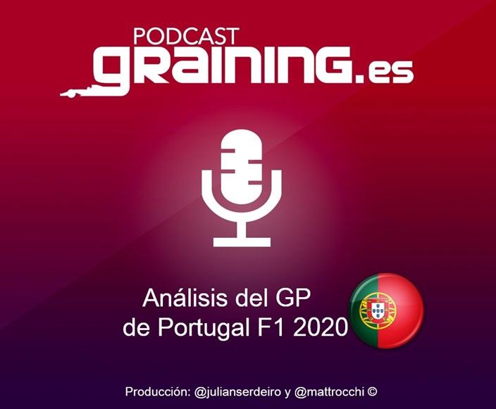 Podcast Graining Media F1 No. 54 con el análisis del GP de Portugal 2020
