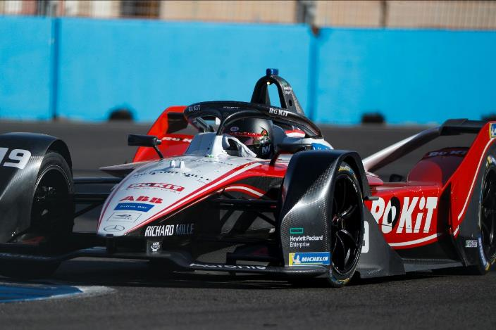 ROKiT Venturi forma con Nato y Mortara en la séptima temporada de Fórmula E