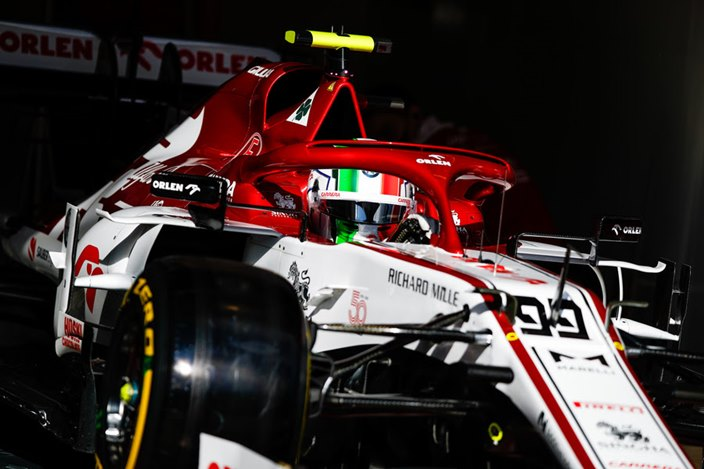 Sábado en Eifel – Alfa Romeo: buena posición con Giovinazzi, decepción con Raikkonen