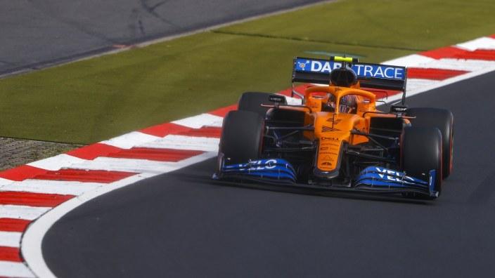 Sábado en Eifel - McLaren: Norris no puede más que ser octavo, mientras que Sainz es décimo