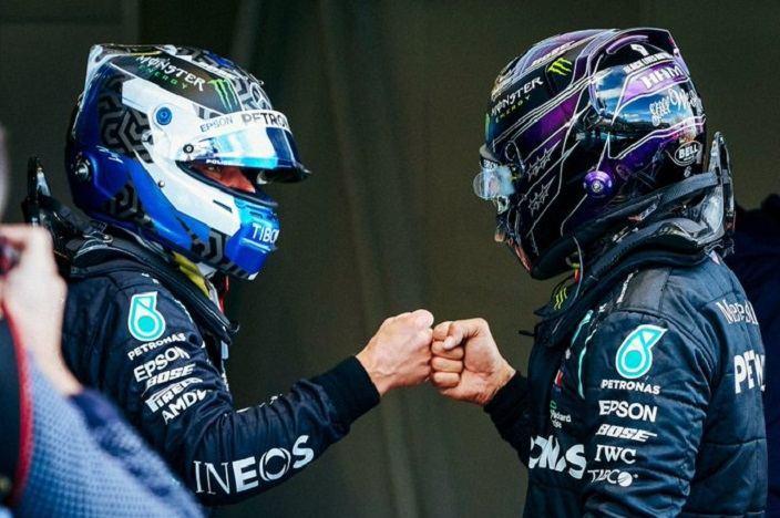 Sábado en Eifel - Mercedes aguanta el envite de Verstappen