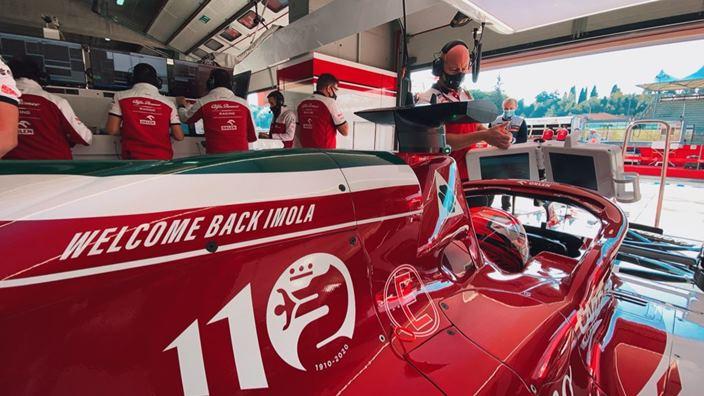 Sábado en Emilia Romaña - Alfa Romeo tiene una cuenta pendiente en Imola