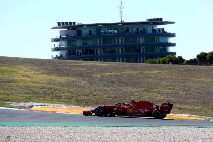 Sábado en Portugal - Ferrari: Leclerc vuelve a brillar, Vettel 15º