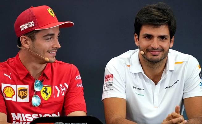 """Sainz sobre las bromas de Ferrari: """"Soy el primero en reirse y disfruto"""""""