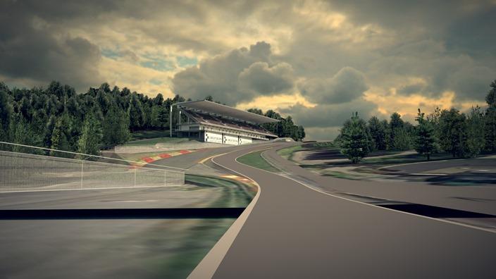 Spa, renovación de gradas y grava en busca de MotoGP y F1
