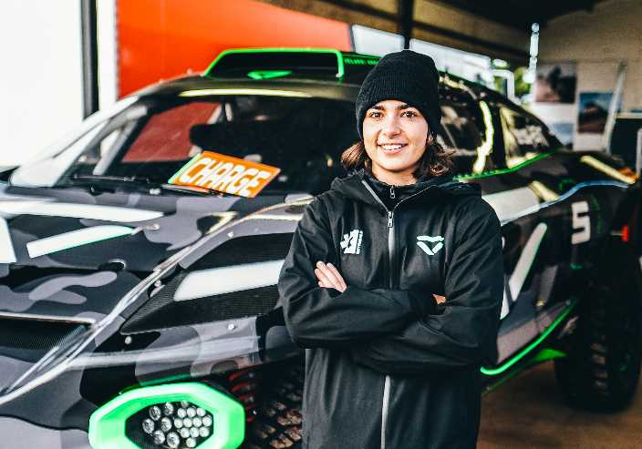 Jamie Chadwick, confirmada como piloto femenina de Veloce Racing para Extreme E
