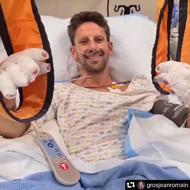 Domingo en Baréin - Haas: Grosjean, sin consecuencias graves tras su dramático accidente