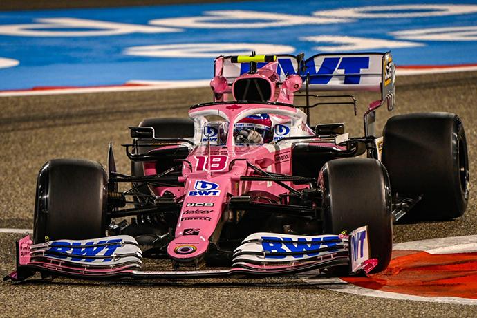 Viernes en Baréin - Racing Point, con ambos coches en el top ten