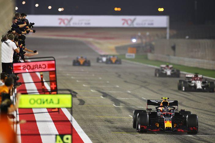 Domingo en Baréin – Red Bull hace doble podio con Verstappen y Albon