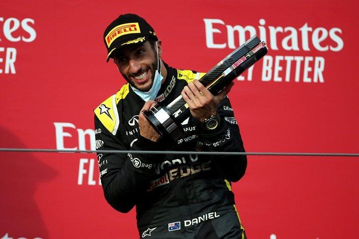 Domingo en Emilia Romaña - Renault: Ricciardo vuelve a subirse al podio con un tercer lugar