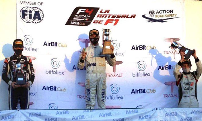 Noel León se proclama campeón de la FIA F4 NACAM 2019/2020 en México