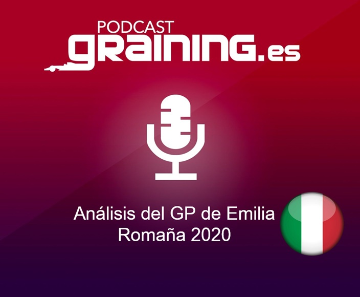 Podcast Graining Media F1 No. 55 con el análisis del GP de Emilia Romagna 2020