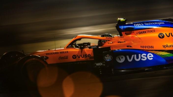 Sábado en Baréin – McLaren realiza una mala clasificación con Norris noveno y Sainz con un fallo mecánico