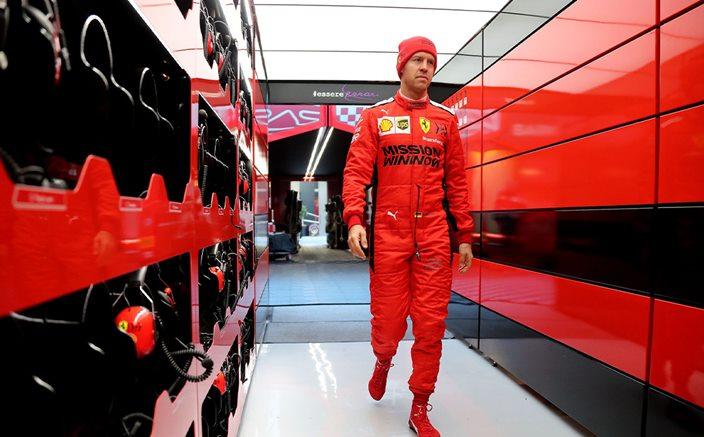 Vettel, crítico con la FIA por la aparición de la grúa en la clasificación del GP de Turquía