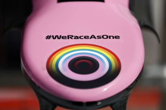 Y… ¿Dónde quedó el #WeRaceAsOne?