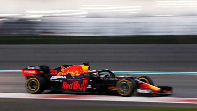 Clasificación en Abu Dabi: Verstappen brilla y se queda con la pole